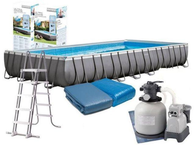 как собрать бассейн Intex видео инструкция - фото 8