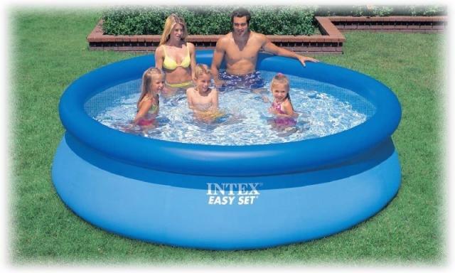 73f9c8847a752 Надувной бассейн Intex 28120 (56920) Easy Set Pool, размер 305 х 76 см