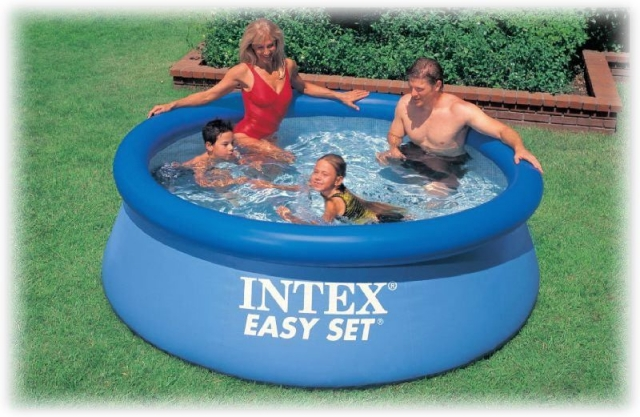 intex 56970 244 76. Black Bedroom Furniture Sets. Home Design Ideas
