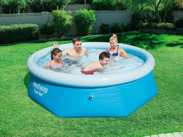 Надувной бассейн bestway 57243 размер 274 x 76