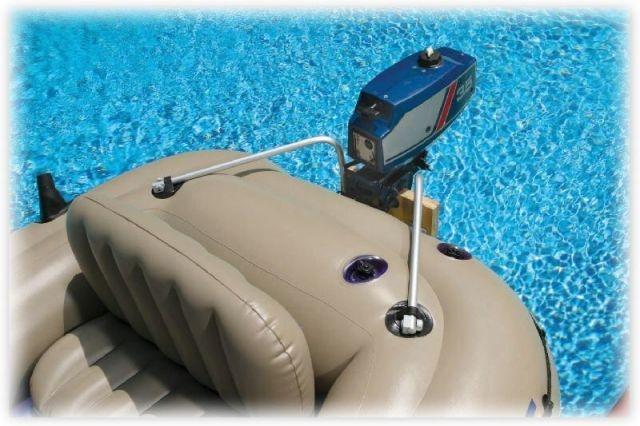 дополнительные приспособления к надувным лодкам